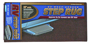 "The Camco 18"" Wrap Around RV Step Rug Review"