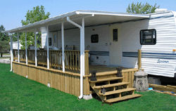 Portable RV Awnings and Screenrooms